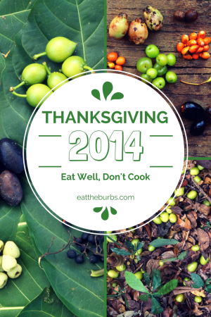 Still looking for Thanksgiving plans? Check these out (2014)