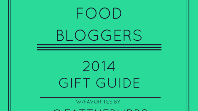 Chicago Food Bloggers Gift Guide