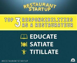 restaurant start up