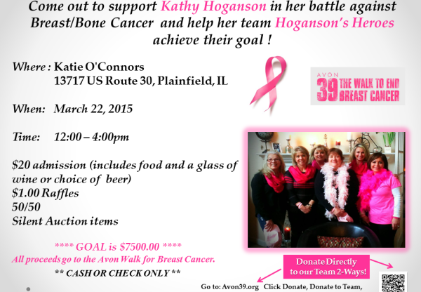 Help the Hoganson's Heroes Fight Breast Cancer (2015)