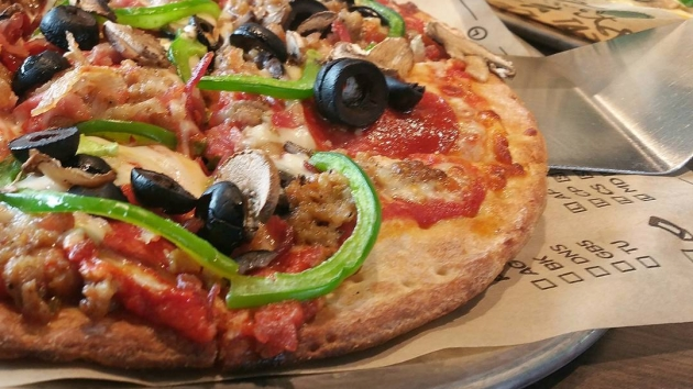 {Foodie Gram} Olive Theory Pizza in Downers Grove