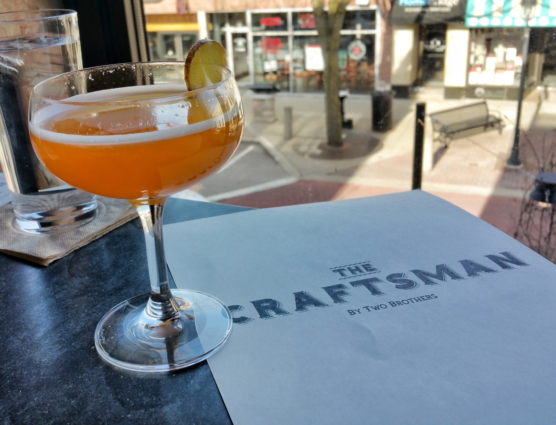 Two Brothers Naperville Cocktail