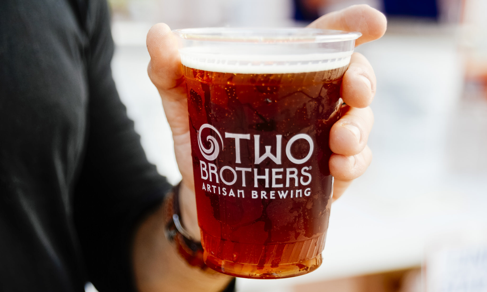 Two Brothers Beer Cup
