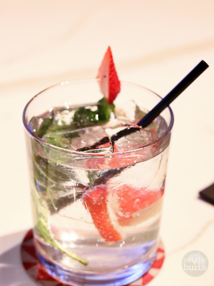 Genuine Strawberry Basil Cocktail