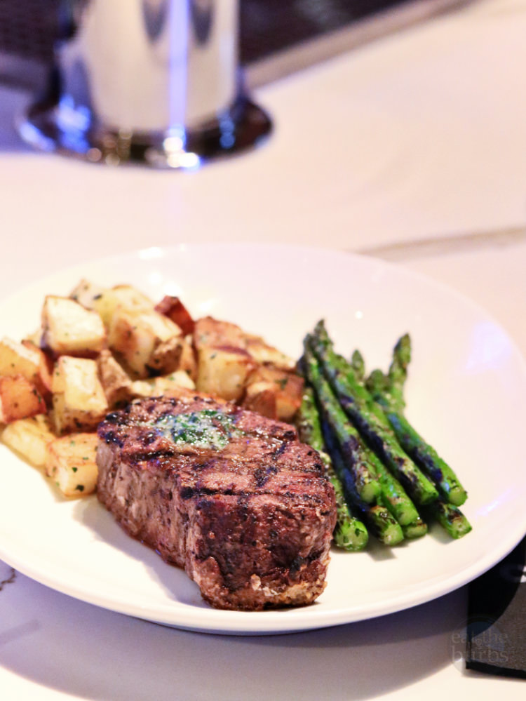 Filet Mignon and Asparagus with Potatoes