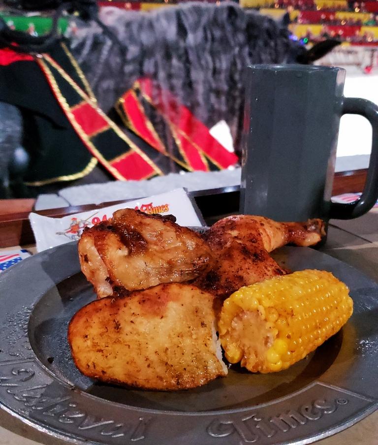 Medieval Times Dinner Menu