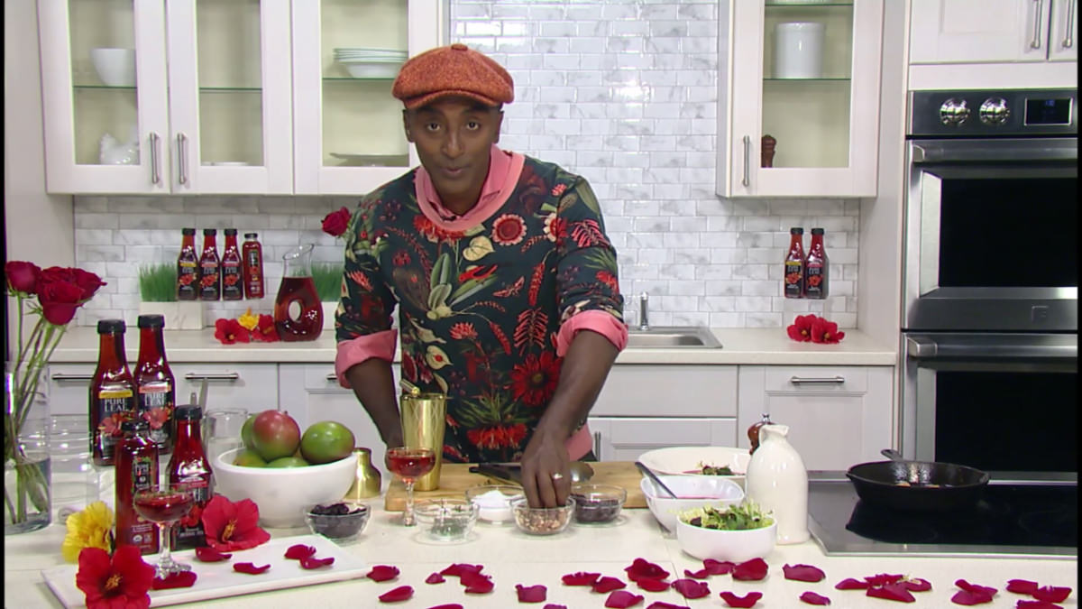 Top Chef Marcus Samuelsson Delivers 'Date Night In' Recipes (Interview/Demo)